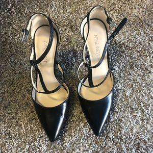 """Black high heels """"Nine West"""""""